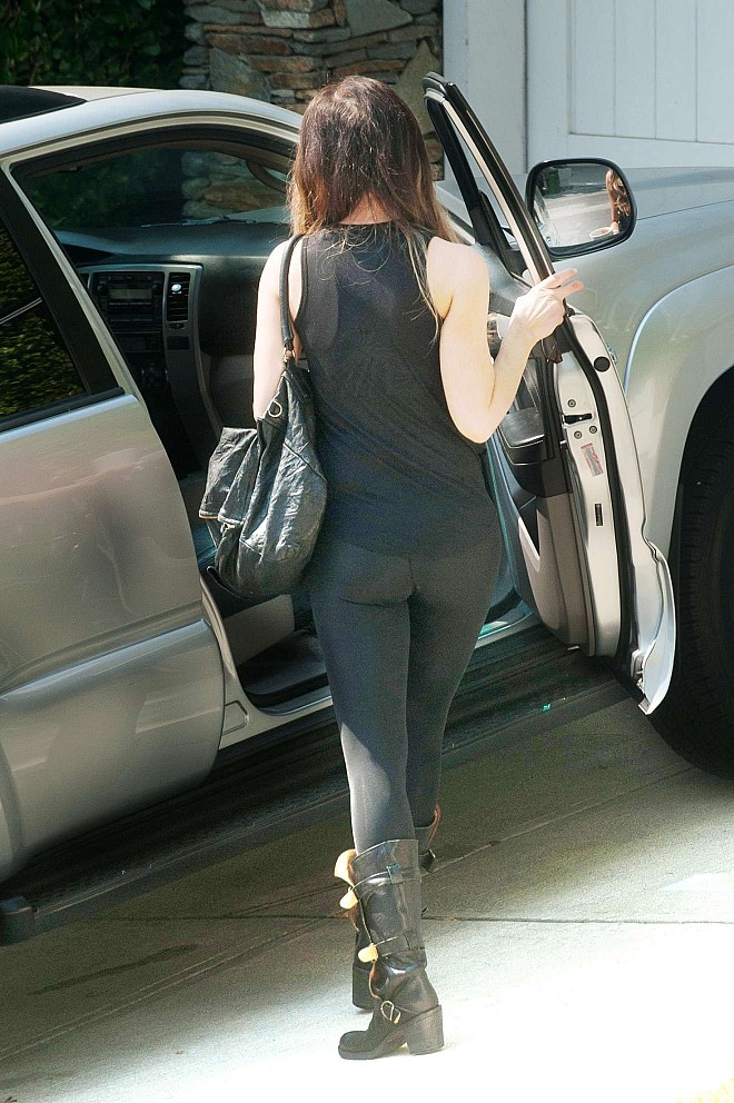 Kate Beckinsale in Spandex out in LA