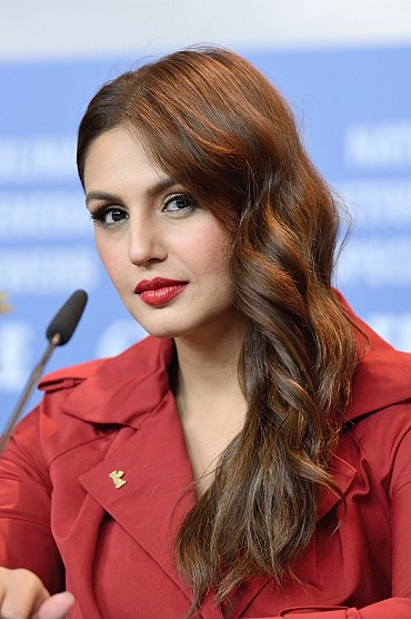 Huma Qureshi Looks Gorgeous As She Attends The 'Viceroy's House' Press Conference During The 67th Berlinale International Film Festival In Berlin, Germany
